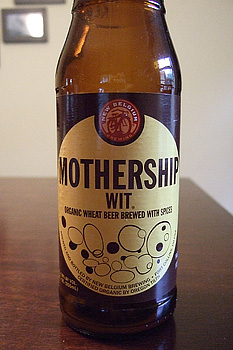 Mothership Organic Wit New Belgium Beer