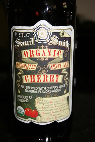 Samuel Smith Organic Cheery Fruit Ale