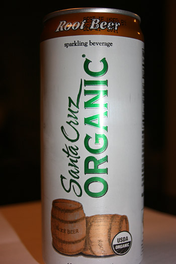 Santa Cruz Organic Root Beer Soda Sparkling Beverage