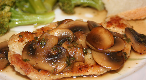Quick and Easy Chicken Marsala Dinner