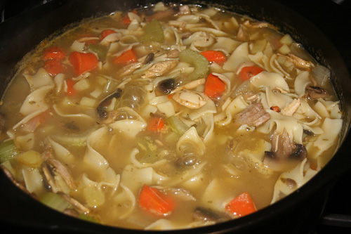 Thick Hearty Turkey Vegetable Soup