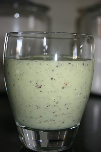 Vegan Kiwi Pineapple Banana Coconut Milk Smoothie