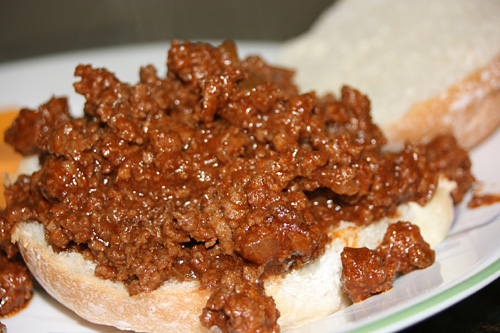 Organic Spicy Beef Sloppy Joe Recipe