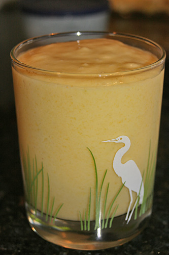 Vegan Mango Pineapple Smoothie with Coconut Milk