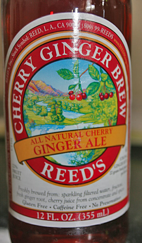 Reed's All Natural Cherry Ginger Brew Ale