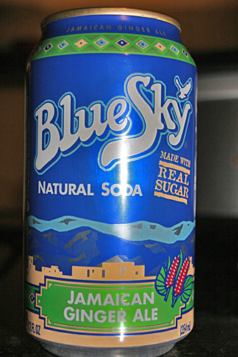 Blue Sky Natural Soda Jamaican Ginger Ale