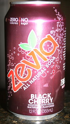 Zevia Black Cherry All Natural Soda