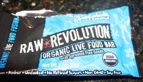 Raw Revolution Organic Live Food Bar Chocolate & Coconut