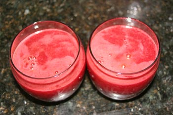 Beet Carrot Celery and Cucumber Juice Recipe