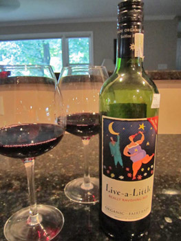 Live-a-Little Organic Fairtrade Red Wine