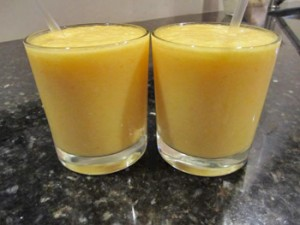 Orange Pineapple Banana Vegan Smoothie