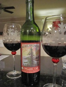 Pacific Redwood Organic Cabernet Wine