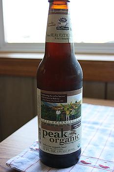 Peak Organic Company, Espresso Amber Ale