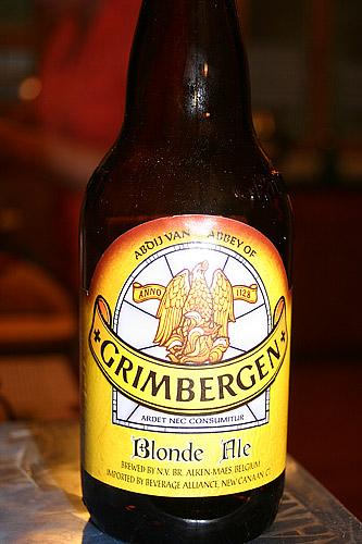 Grimbergen Blonde Belgium Abbey Ale