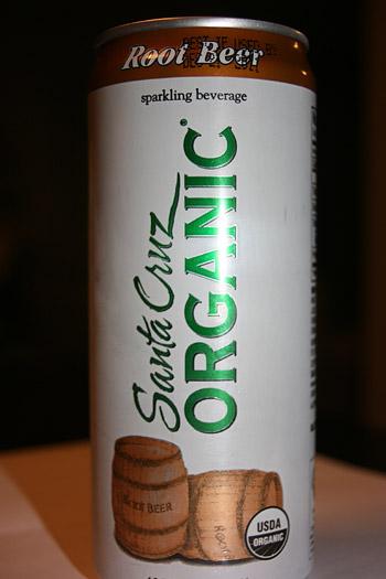 Santa Cruz Organic Root Beer Soda Sparkling Beverage