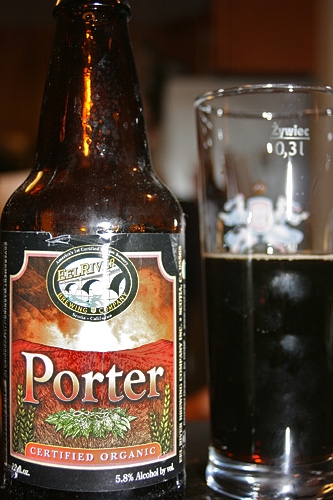 Eel River Brewing Company Certified Organic Porter