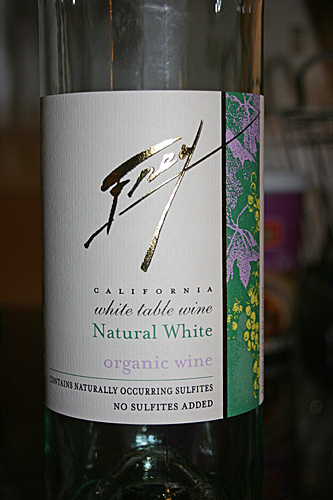 Frey California Organic White Natural Table Wine Sulfite Free
