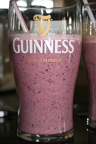 Organic Pineapple Blueberry Orange Smoothie