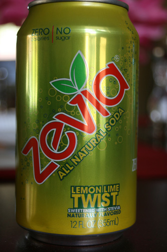 Zevia Lemon Lime Twist All Natural Soda
