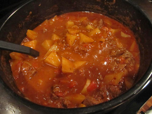 Hugarian Goulash Stew Recipe