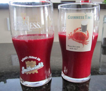 Beet Carrot Tomato Cucumber and Pepper Juicing Recipe