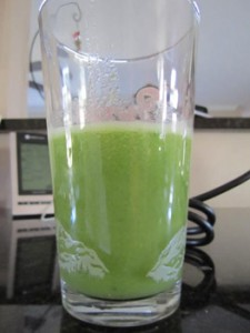 Apple Celery Swiss Chard Ginger Juice