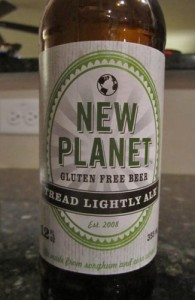 New Planet Tread Lightly Ale Gluten Free Beer